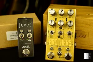 Chase Bliss Audio – Brothers (Dual gain stage) & Faves (全系列專用MIDI Controller) 抵台上市!