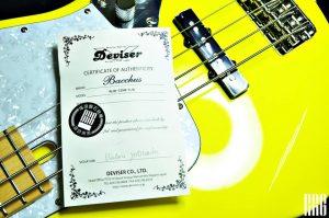 真誠推薦 BACCHUS 樂器職人 用心製作的UNIVERSE系列 BASS/吉他