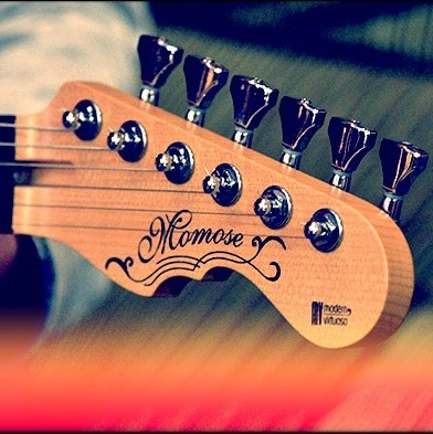 Momose Custom Guitars 代理業務開始