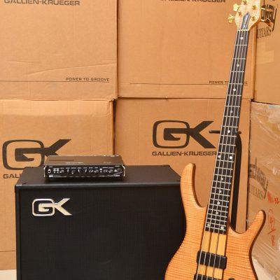 Gallien-Krueger GK Bass amp head 音箱組合參考範例